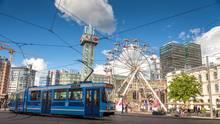 Autofreie Innenstadt in Oslo