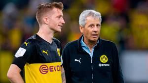 Lucien Favre steht beim BVB vor dem Aus