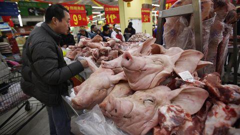Millionen Tiere starben durch die Schweinepest in China