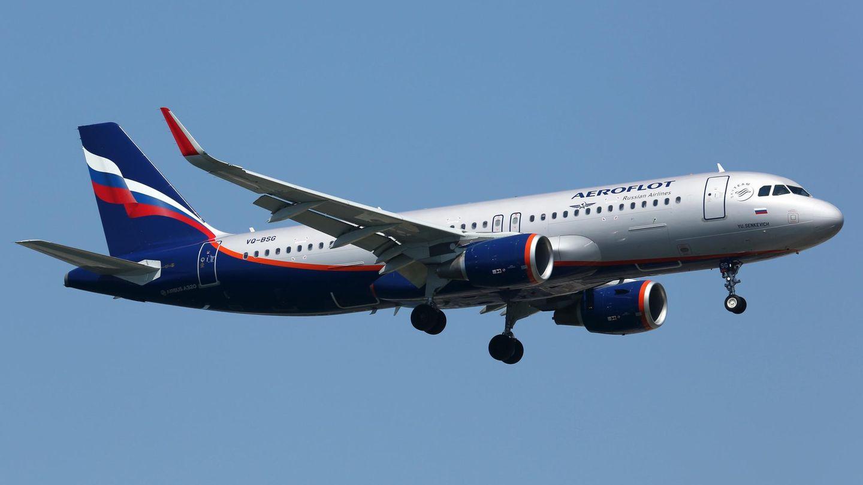Der Zwischenfall mit dem Copiloten ereignete sich an Bord eines Airbus A320 der Aeroflot