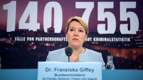 Franziska Giffey (SPD), Bundesfamilienministerin
