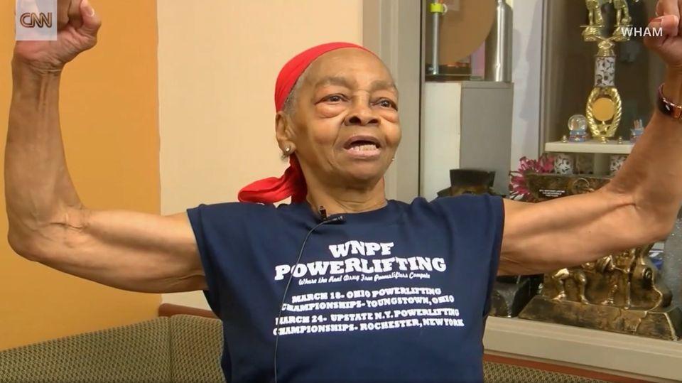 82-jähriger Muskelprotz: Willie Murphy