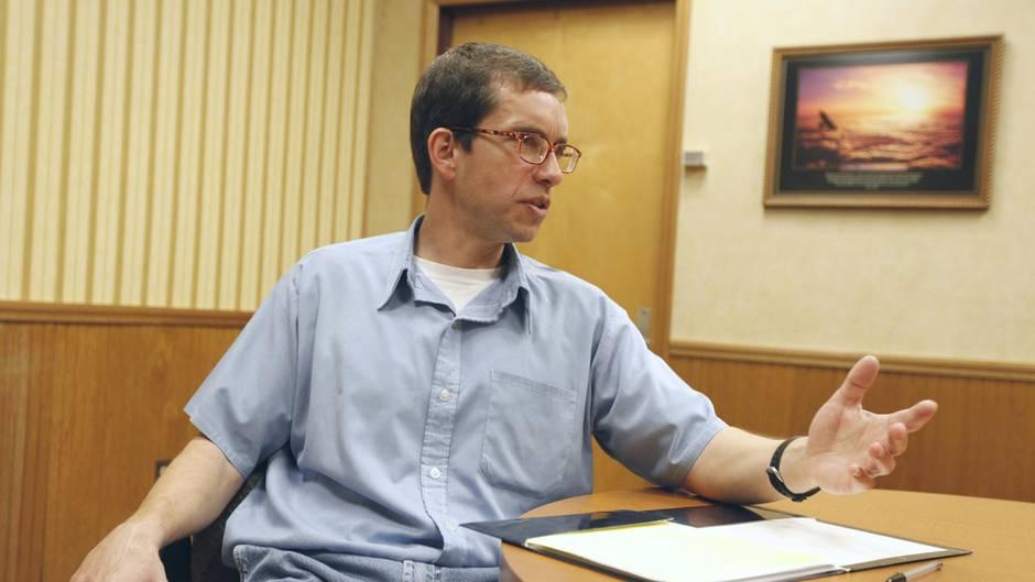 Jens Söring bei einem Interview im Jahr 2011