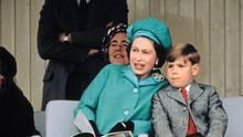 Queen Elizabeth II und Prince Andrew