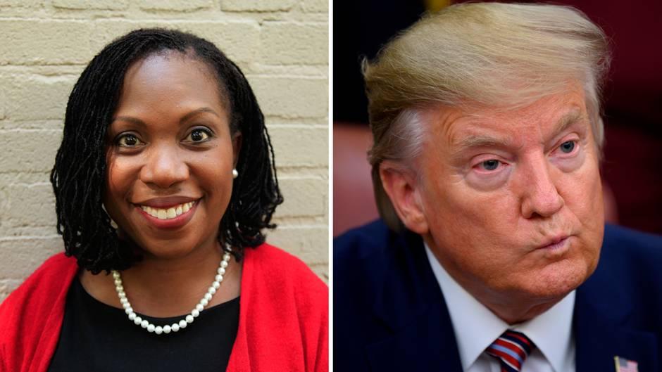 """Richterin Ketanji Brown Jackson sagt in einer Entscheidung: """"Präsidenten sind keine Könige""""."""
