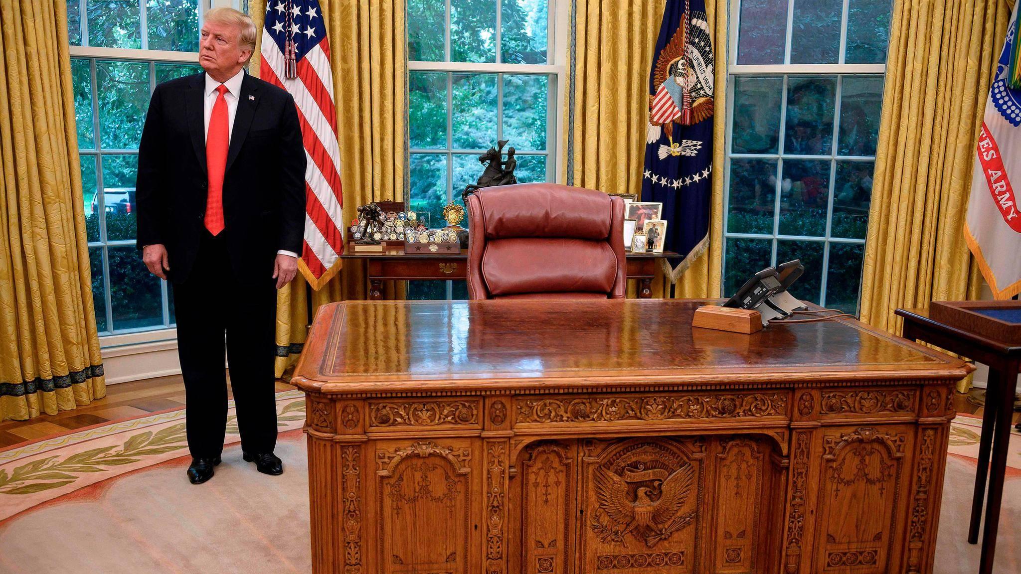Warum Donald Trump Das Oval Office Offenbar Zunehmend Meidet Stern De