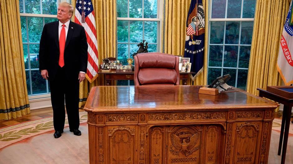 US-Präsident Donald Trump nutzt das Oval Office nach wie vor