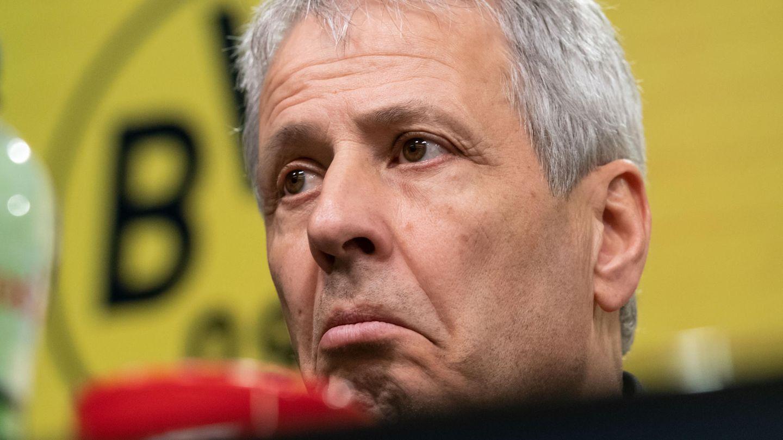 Steht beim BVB wohl vor dem Aus, wenn sich am Auftreten der Mannschaft nicht sofort etwas ändert: Coach Lucien Favre