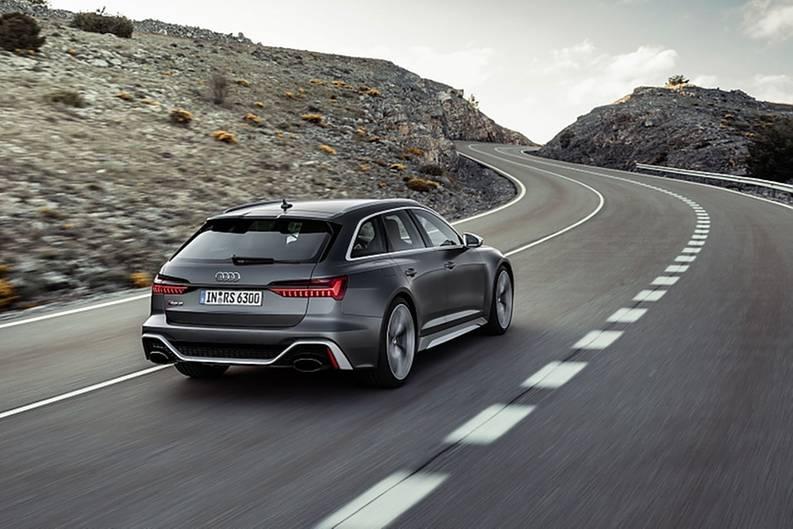 Wenn freigeschaltet, erreicht der Audi RS 6 Avant eine Spitzengeschwindigkeit von 305 km/h