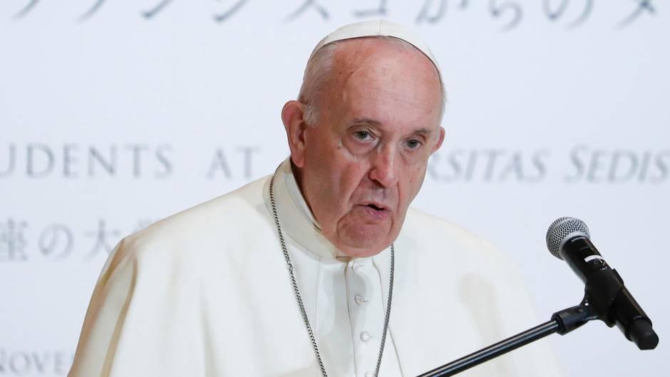 Papst Franziskus in Tokio