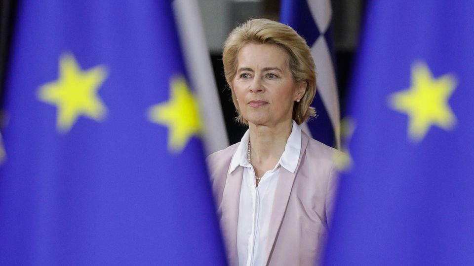 Ursula von der Leyen, designierte Präsidentin der Europäischen Kommission