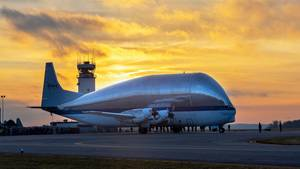Die Super Guppy der Nasa