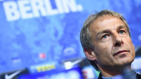 Ex-Nationaltrainer Jürgen Klinsmann trainiert bis Saisonende Hertha BSC