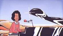 Michel Berger im animierten Google Doodle