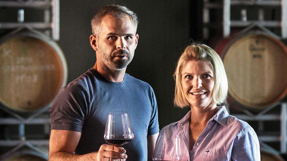 Christian und Maja Peth wollen einen Wein ganz nach ihren Vorstellungen machen