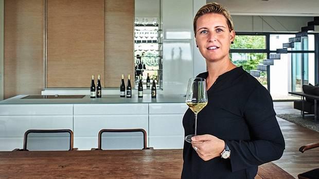 Moderner Wein, moderner Auftritt: Carolin Spanier-Gillot