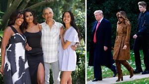 Die Obamas und die Trumps