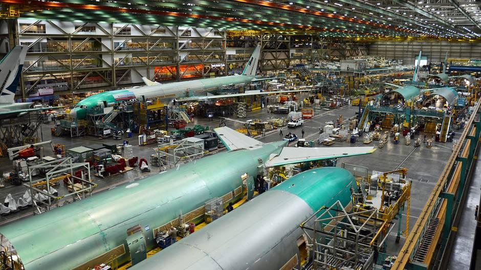 Boeing 777 Produktion