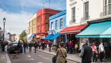 In einer angesagten Gegend wie Notting Hill ist dieVermietung kein Problem.