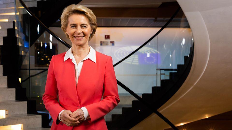 Die neue Präsidentin der Europäischen Kommission Ursula von der Leyen