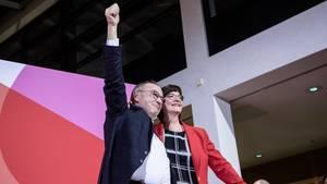 Norbert Walter-Borjans und Saskia Esken sollen das neue SPD-Führungsduo werden