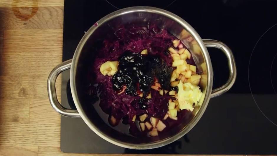 Das einfachste Rotkohlrezept der Welt