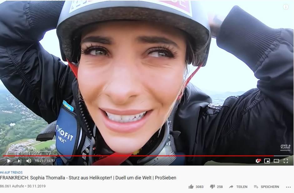 """Sophia Thomalla in """"Das Duell um die Welt"""""""