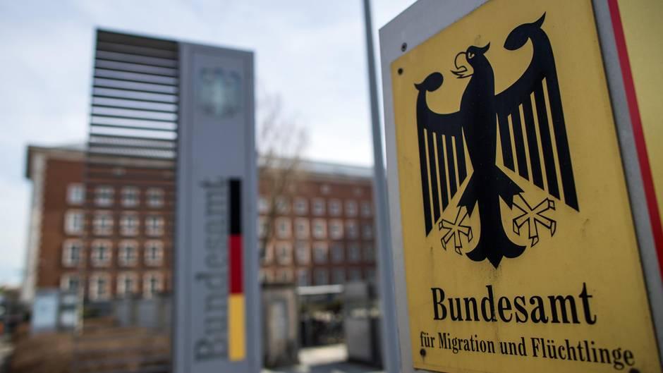 Eine Außenansicht vom Bundesamt für Migration und Flüchtlinge (Bamf)