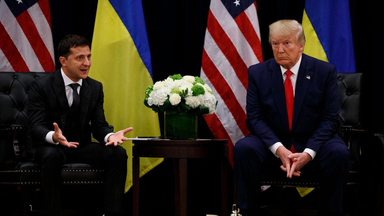 Donald Trump trifft Wolodymyr Selenskyj in New York