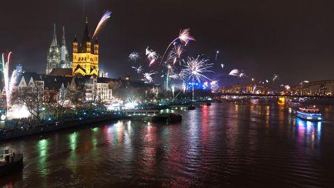 Feuerwerk in Köln
