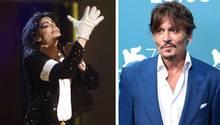 Michael Jackson und Johnny Depp