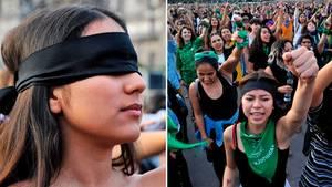 """Chile: Frauen-Protest geht durch Mark und Bein – """"Der Vergewaltiger bist du!"""""""