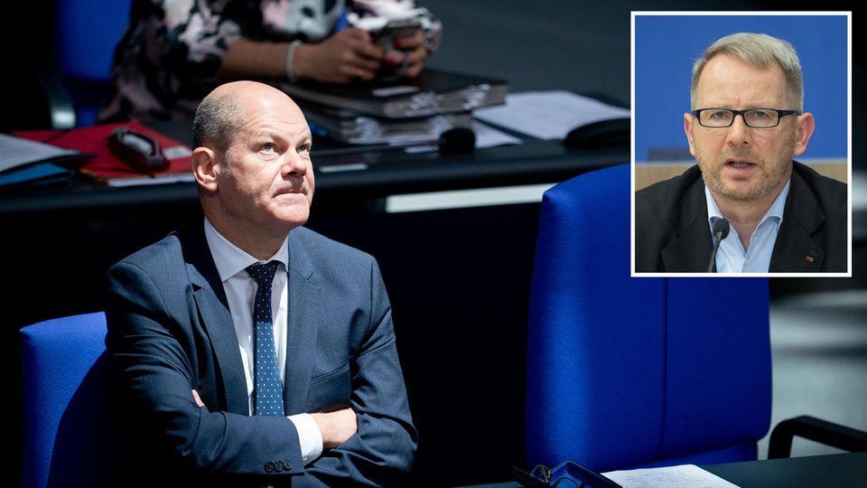SPD-Politiker Olaf Scholz und Johannes Kahrs
