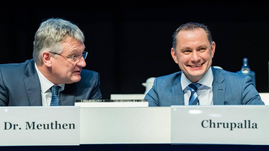 Tino Chrupalla ist zum Nachfolger von Alexander Gaulandals zweiter Parteisprecher gewählt worden