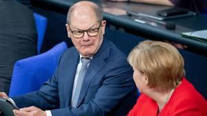 Finanzminister und Vizekanzler Olaf Scholz wird kein SPD-Parteichef