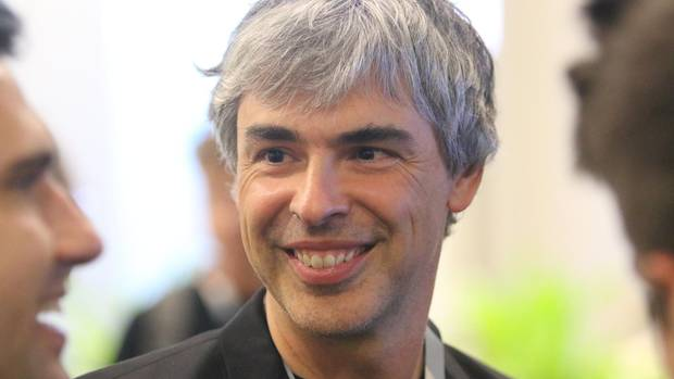 Google-Mitgründer Larry Page