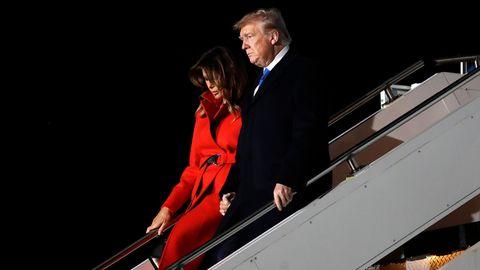 Melania und Donald Trump reisen zum Nato-Gipfel in London an
