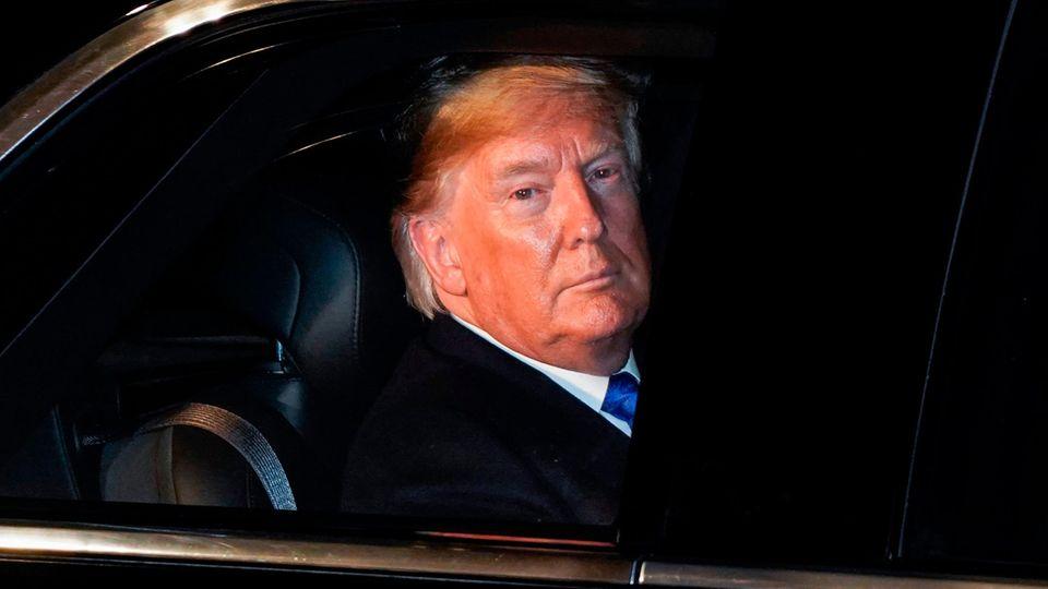 Donald Trump in London