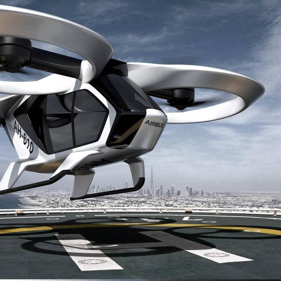 Ab 2020: Airbus startet Testflüge mit Lufttaxi auf deutschem Boden