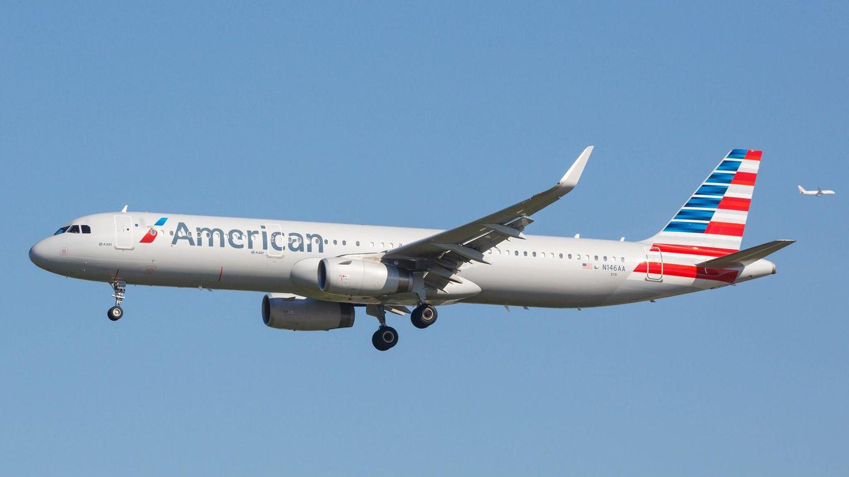 EinAirbus A321 von American Airlines