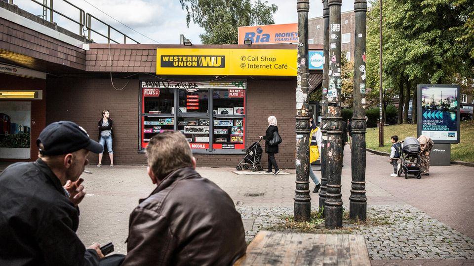 Poliklinik auf der Hamburger Veddel