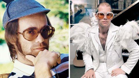 Portraitaufnahmen von Elton John
