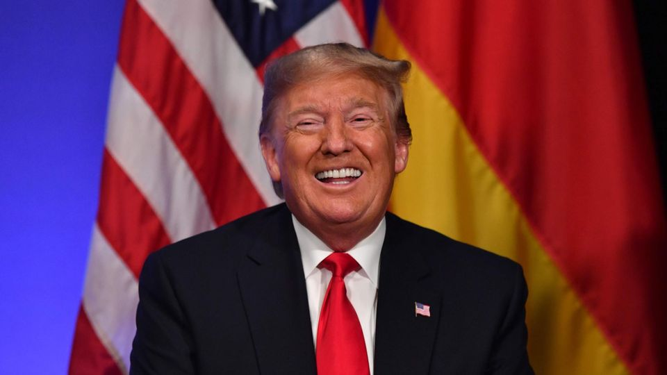 Donald Trump beim Nato-Gipfel