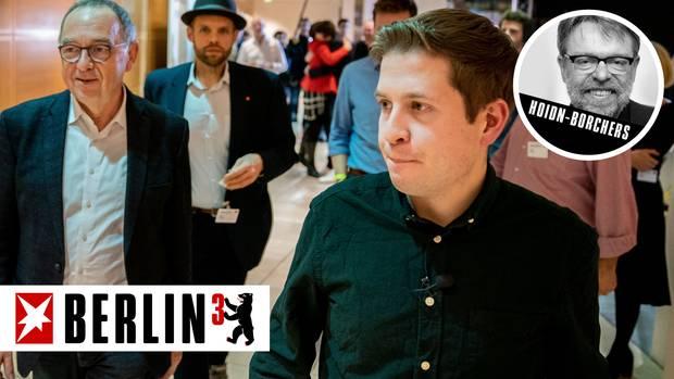 Berlin hoch 3 - Kevin Kuehnert und Norbert Walter-Borjans von der SPD