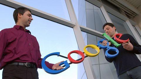 Sergey Brin und Larry Page haben Google seit der Gründung begleitet