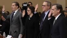 US-Rechtsprofessoren sehen genug Grundlagen für Impeachmentverfahren