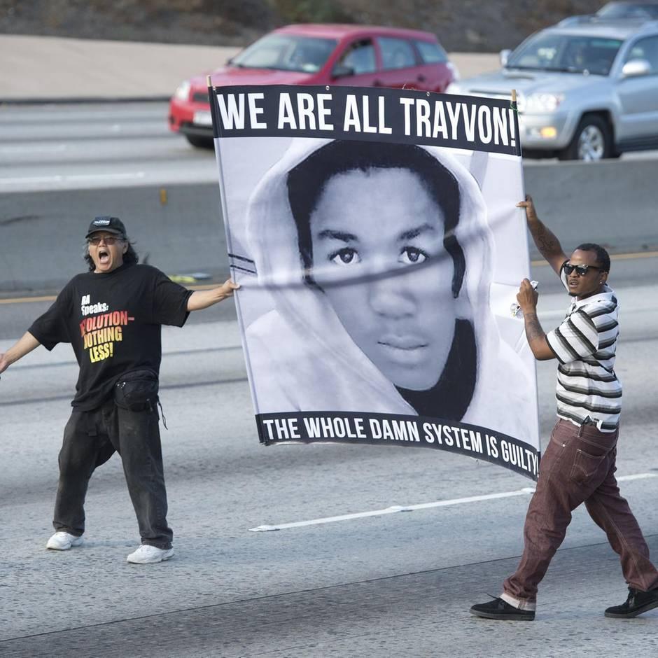 News von heute: Todesschütze verklagt die Familie seines Opfers Trayvon Martin