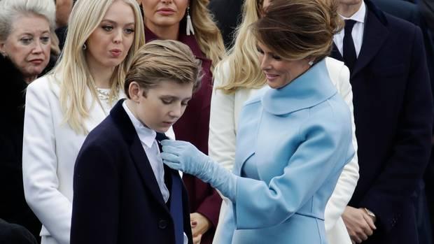 Melania und Barron Trump