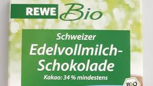 rückruf-ticker - rewe bio schokolade