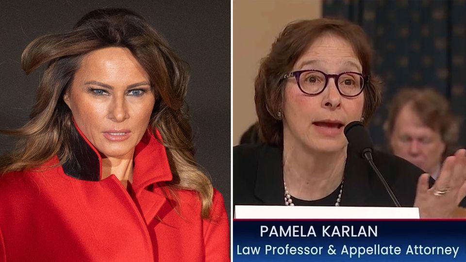 Pamela Karlan sagt beim Justizausschuss aus.